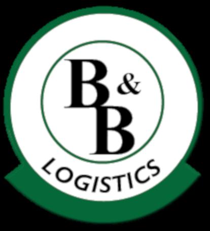 b & b logistics company logo
