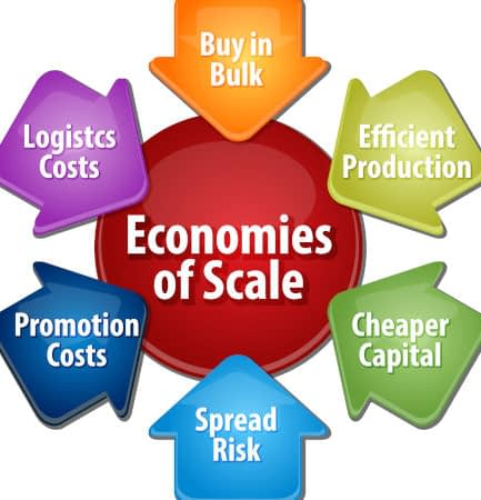 economies of scale benefits