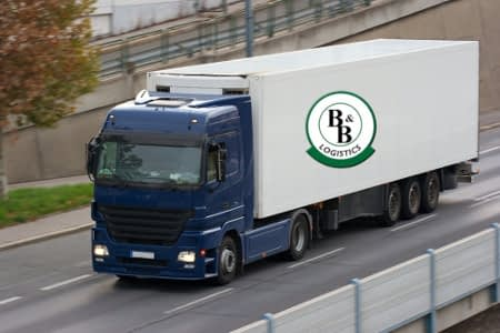 freight logistics truck transport