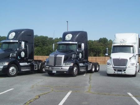logistics company trucks