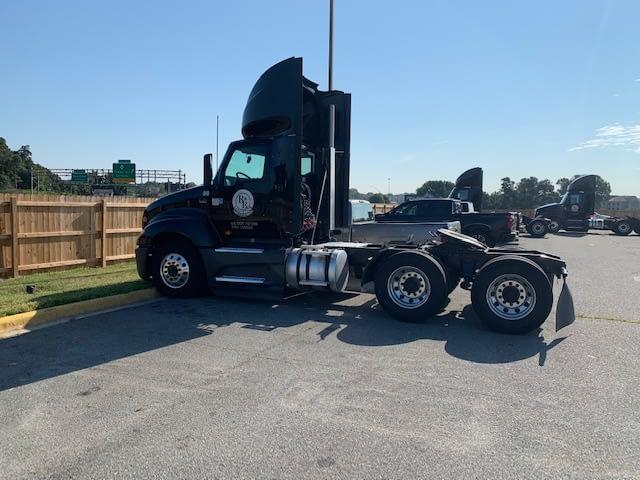 logistics management truck